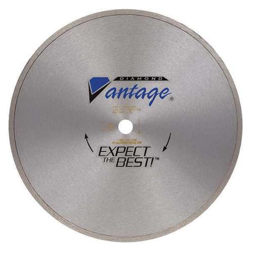 DIAMOND VANTAGE 0706ATDY2 Diamond Saw Bld, Dry, cntnuos Rim, 7 In Dia