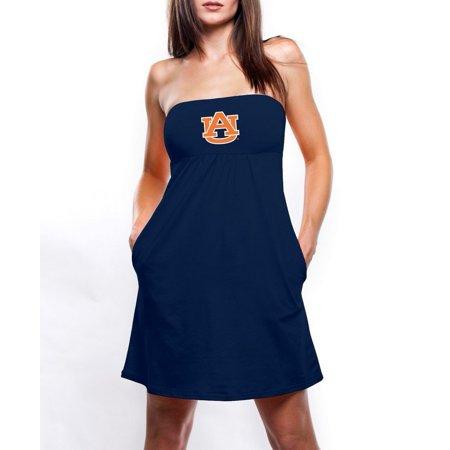 b764a4f999 Chicka-D - Slim Fit Auburn University Tigers Tube Top Dress - Walmart.com