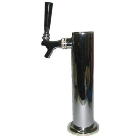 Draft Tower Single Tap for Beer Kegerator by Learn To Brew (Tap Draft Beer Kegerator)