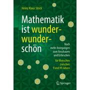 Mathematik ist wunderwunderschn - eBook
