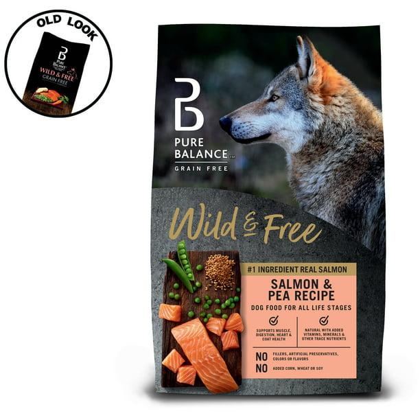 Pure Balance Grain-Free Salmon & Pea Recipe Dry Dog Food, 24 lb