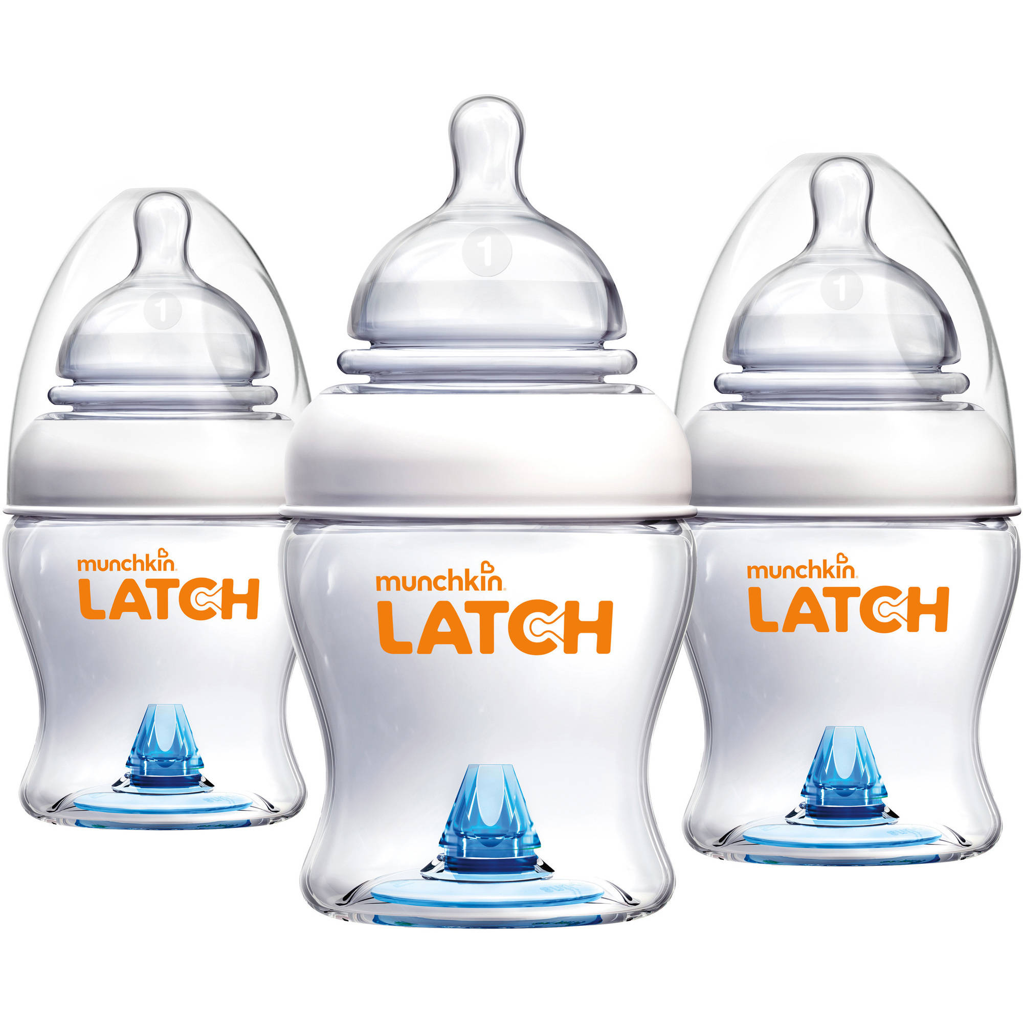 Munchkin LATCH 4 oz Baby Bottle, 3pk