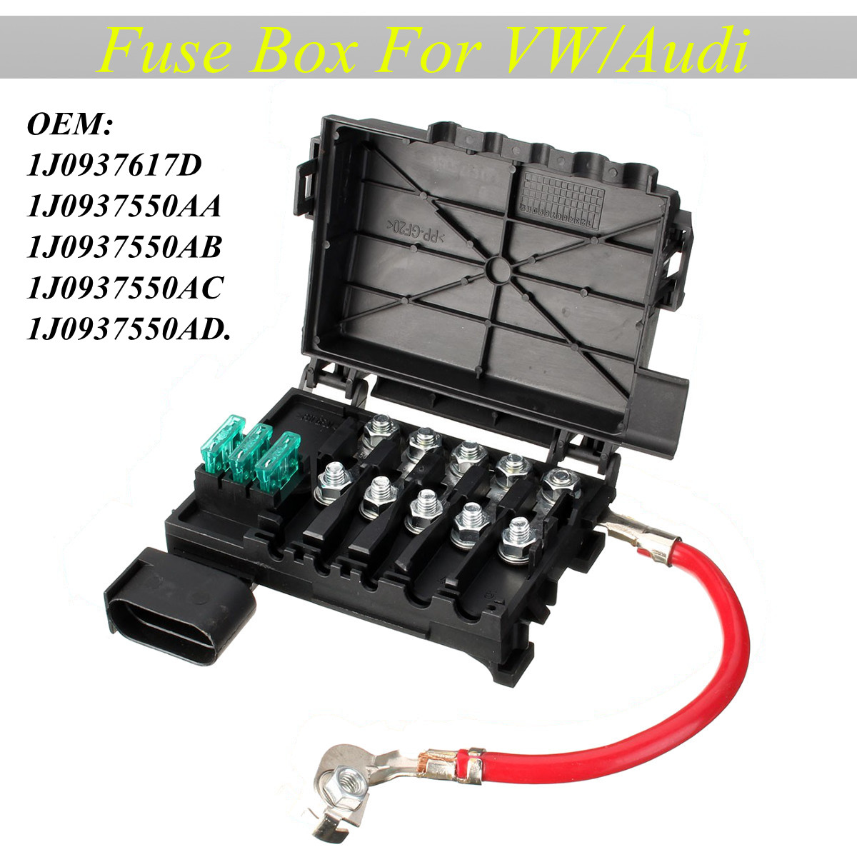 fuse box battery terminal fit for vw beetle bora golf jett walmart comBattery Fuse Box On Vw Bugs #19