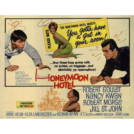 Honeymoon Hotel POSTER Movie Half Sheet A (22x28)