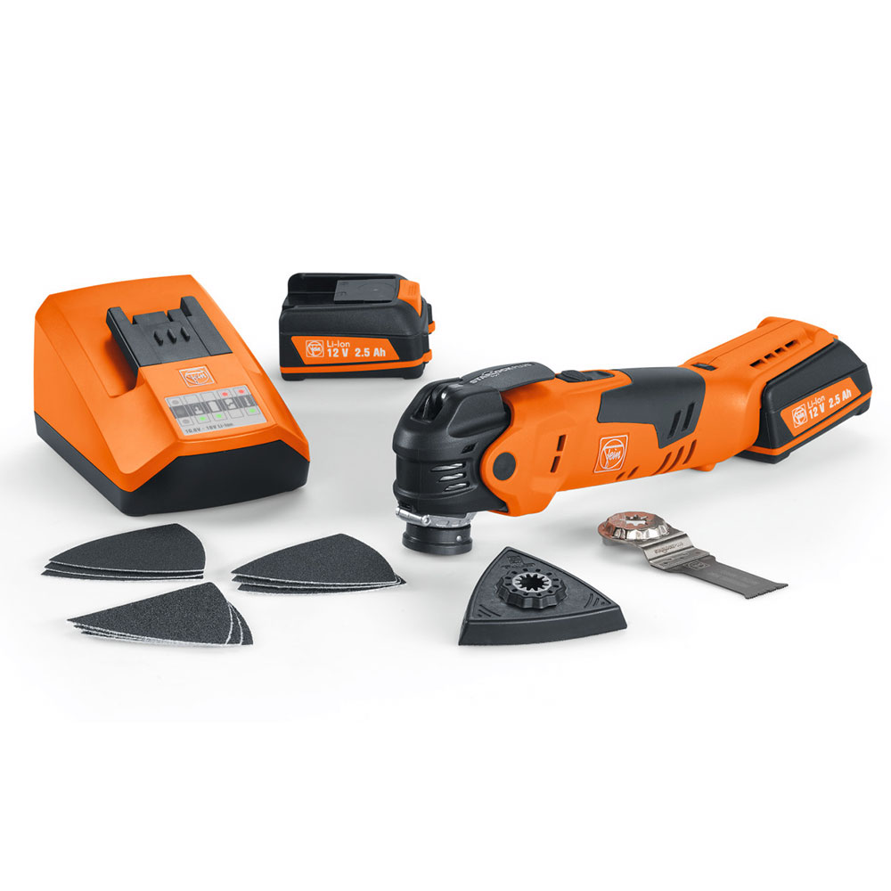 Fein 71292561090 12-Volt Cordless Oscillating Multi-Tool with case - AFMT 12QSL