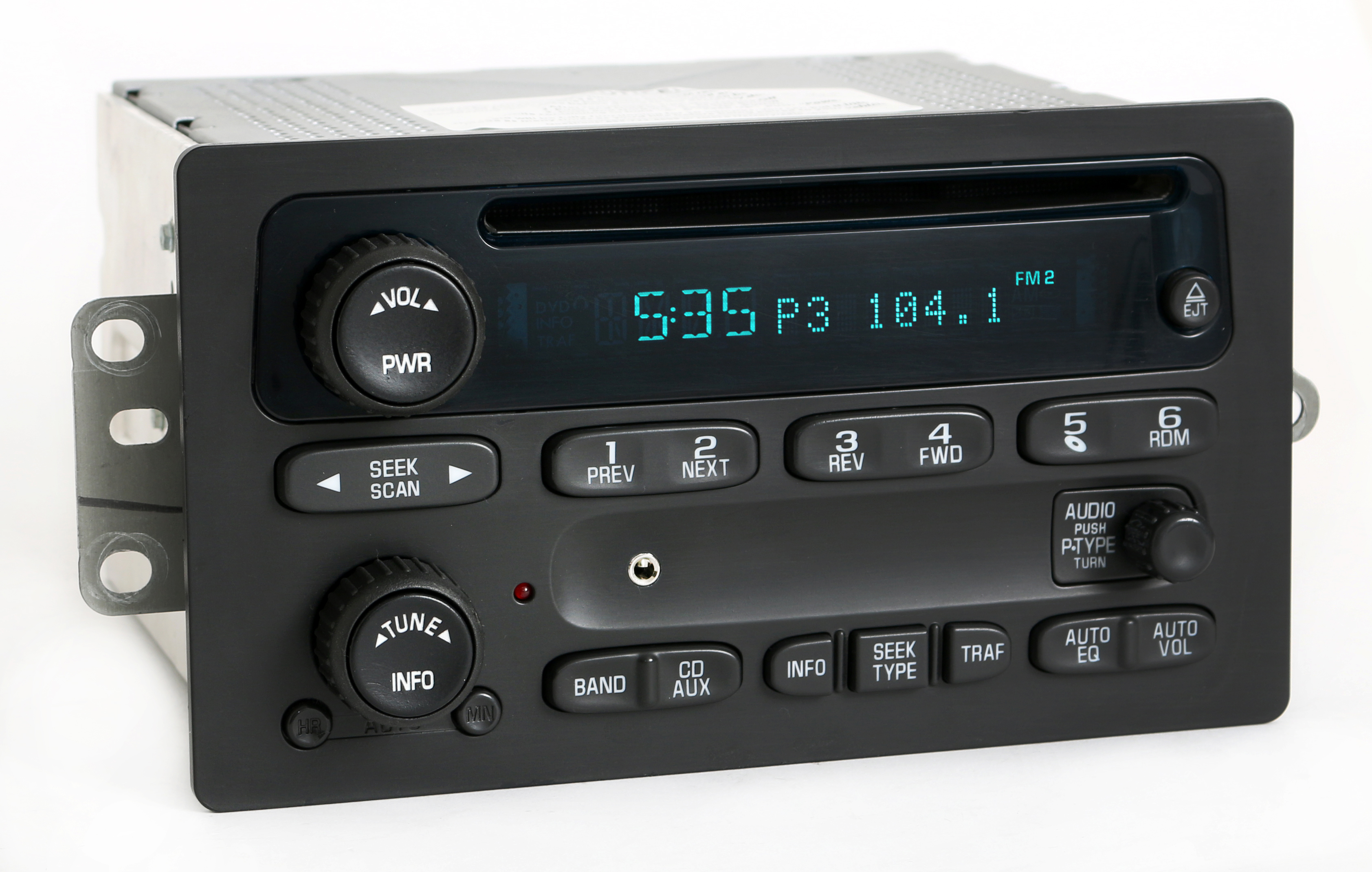 Chevy GMC 03-05 Truck Radio AM FM CD Player Upgraded w Auxiliary Input 10357894 Refurbished by GM