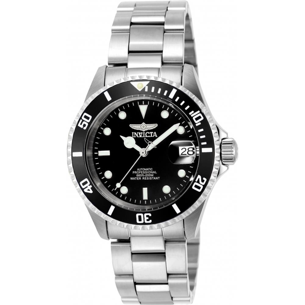 Invicta Men's 40mm Steel Bracelet & Case Flame-Fusion Cry...