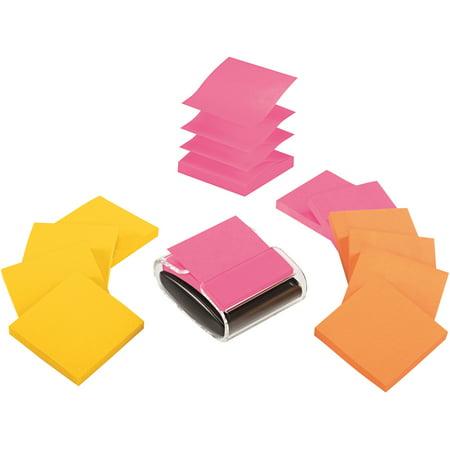 Post-it®, MMMR33012WDVA, Note Dispenser Value Pack, 1 / Pack, Assorted