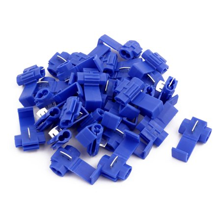 30Pcs Splice Spade Terminals Electrical Wire Connector Assortment Kit Blue - image 2 of 2