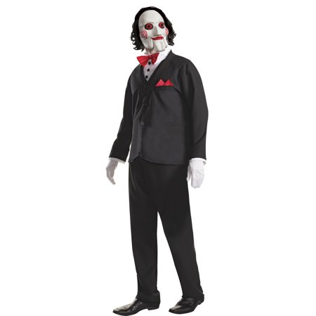 Saw Halloween Costume (Adult Billy the Puppet Saw)
