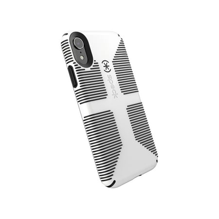 timeless design 001a4 8f004 Speck Candyshell Grip Case for iPhone XR, White/Black
