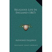 Religious Life in England (1867)
