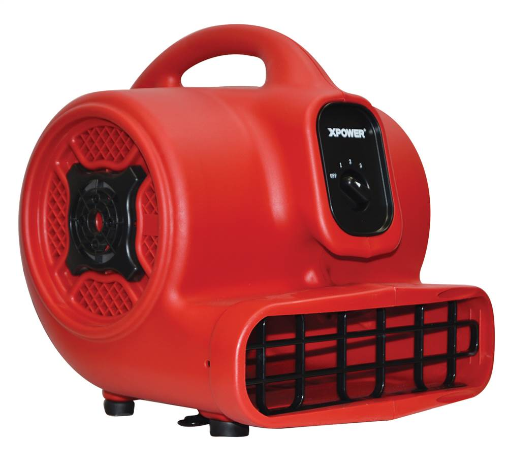 Professional Blower Fan in Red