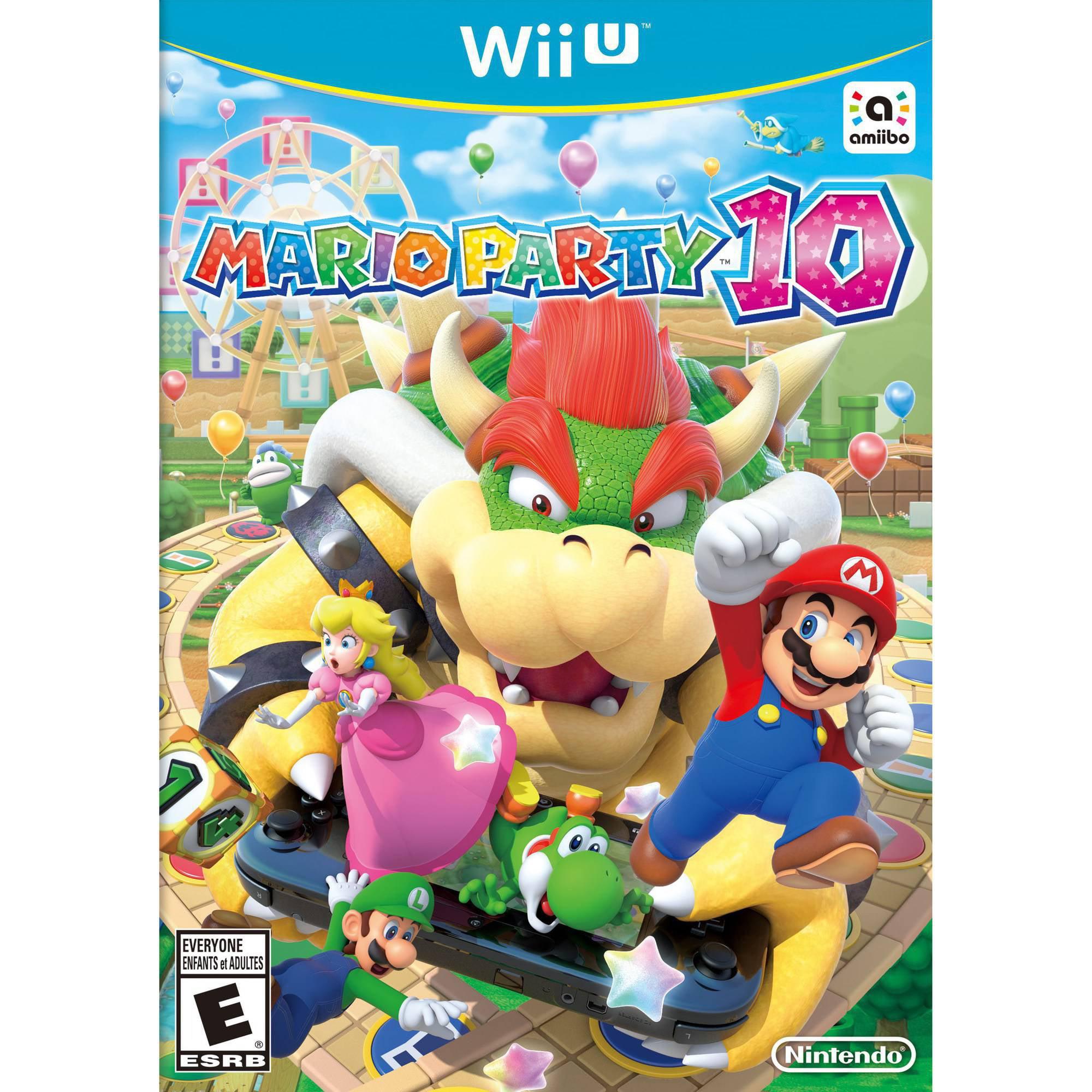 Mario Party 10 (Wii U) - Pre-Owned Nintendo