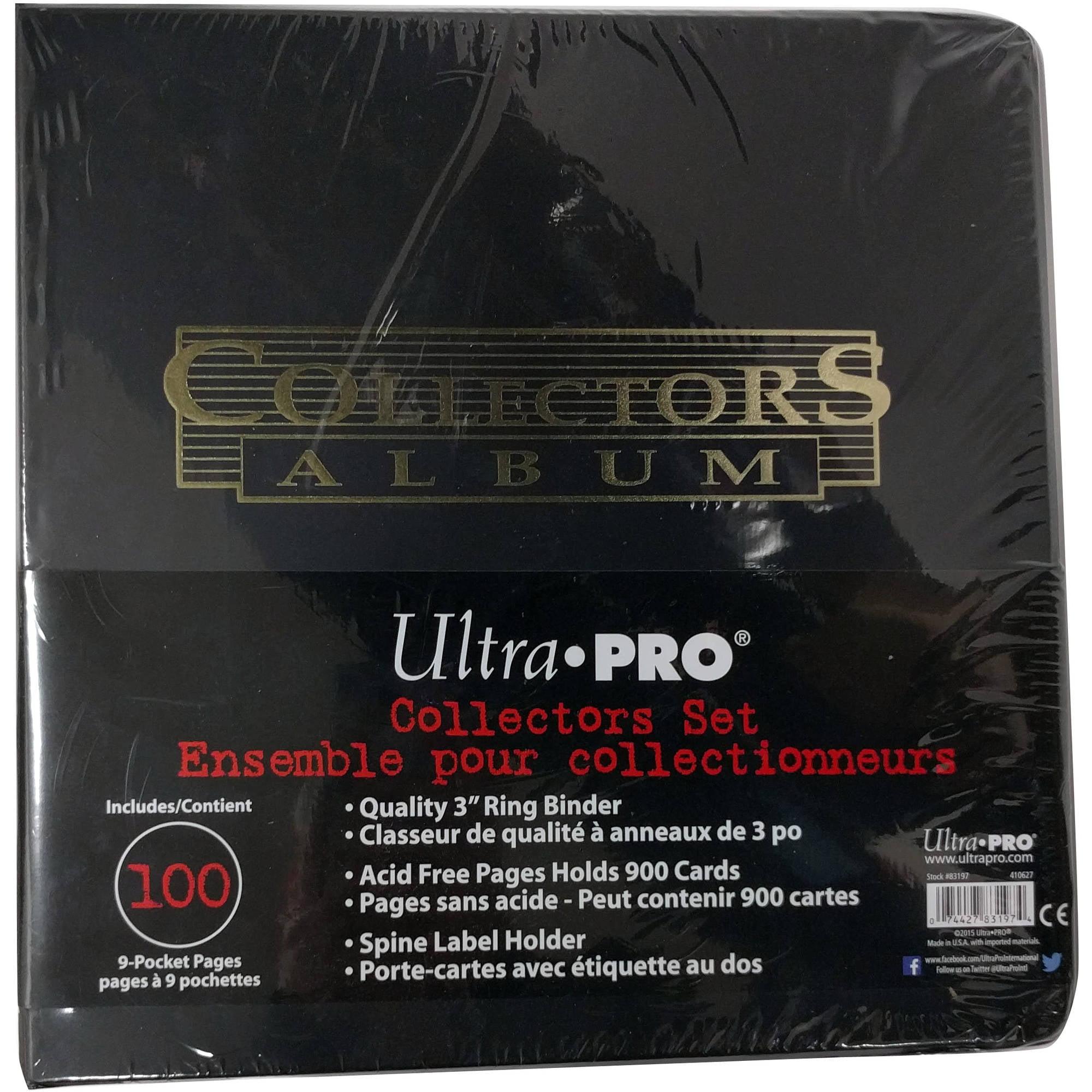 Ultra Pro All Games Mens 4-Pocket Flip