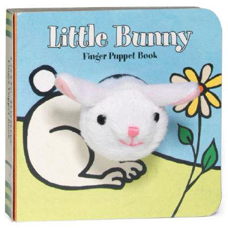 Little Bunny Finger Puppet Book [With Finger Puppet] (Board Book) - Fly High Little Bunny