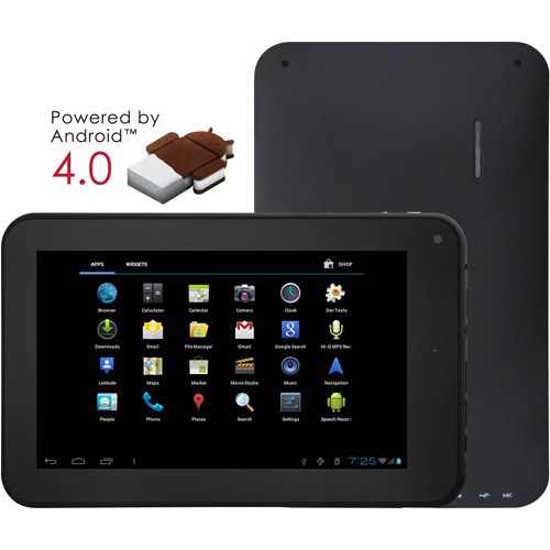 """SuperSonic SC75MID with WiFi 7"""" Touchscreen Tablet PC Featuring Android 4.0 (Ice Cream Sandwich) Operating System"""