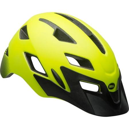 Bell Sports Terrain High Visibility Adult Bike Helmet, Eclipse Yellow