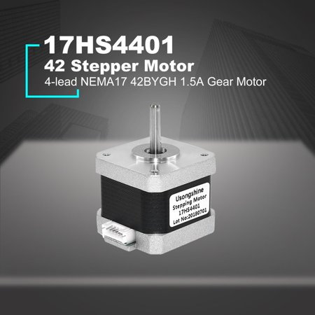 Nema 17 Stepper Motor 42 Motor 4-lead 17HS4401 NEMA17 42BYGH 1.5A Gear Motor with DuPont Line for 3D Printer&CNC - image 4 of 6