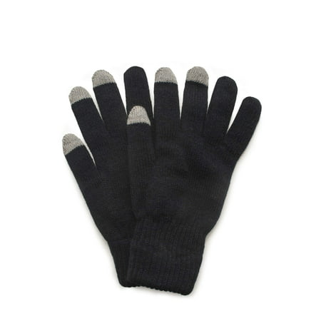 Finger Assault Gloves - QuietWear 2 Layer Knit Glove with Texting Fingers
