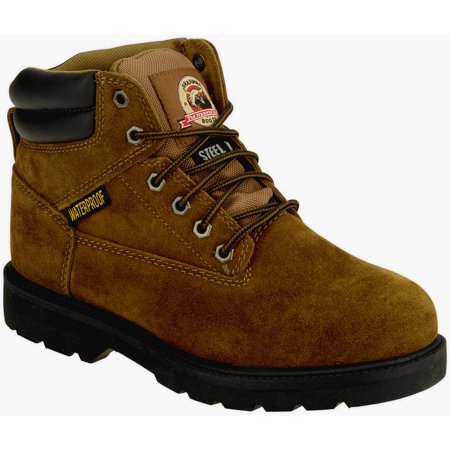 "Brahma Mens Alpha Steel Toe Waterproof 6"" Work Boot"