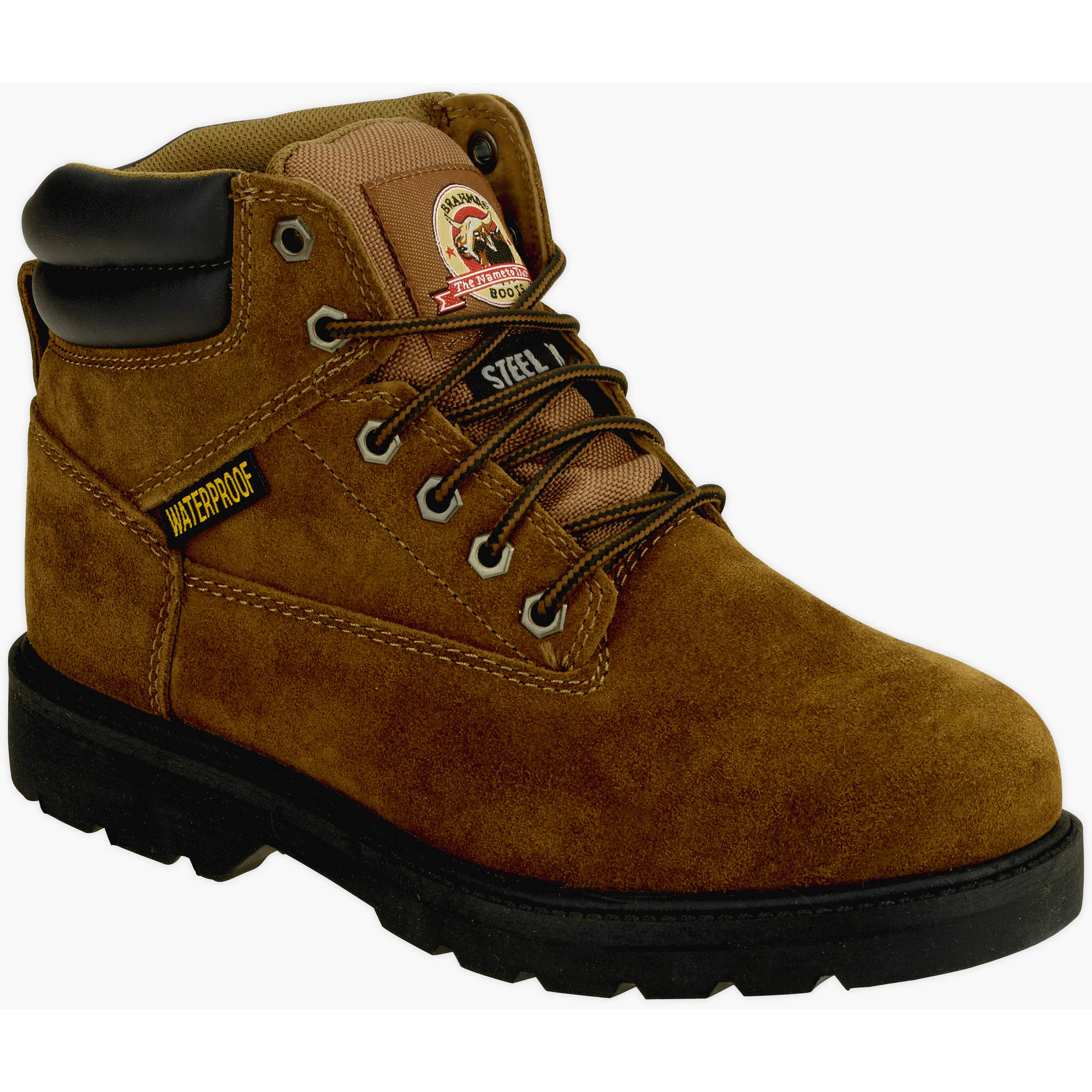 "Brahma Men's Alpha Steel Toe Waterproof 6"" Work Boot"