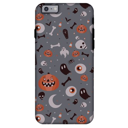 iPhone 6s Plus Case, iPhone 6 Case, Premium 2 in 1 Slim Fit Handcrafted Printed Halloween Designer ShockProof Heavy Duty Protection Case for iPhone 6 Plus, iPhone 6S Plus - - Iphone 6 Halloween