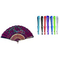 Chinese Fans- Assorted Colors and Designs Case Of 144