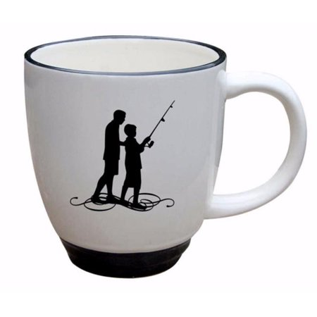 James Lawrence 70861 Mug - Silhouette - Follow Me, 14 oz