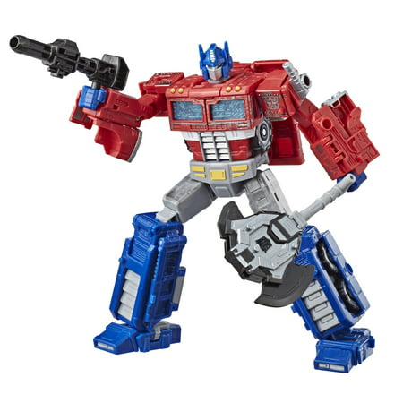 Transformers Generations War for Cybertron: Siege Voyager Class WFC-S11 Optimus Prime Action Figure