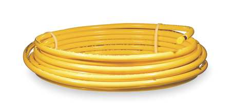 MUELLER INDUSTRIES DY08050 Plastic coated yellow coil,1/2 OD 50 ft.