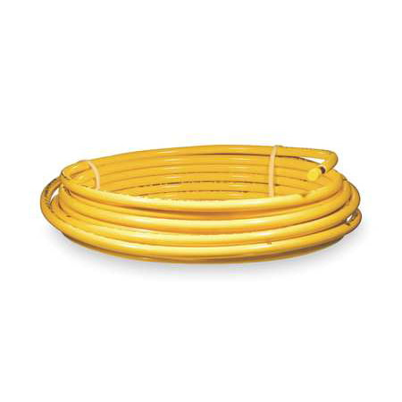 Mueller Industries Dy08050 Plastic Coated Yellow Coil 1 2 Od 50 Ft