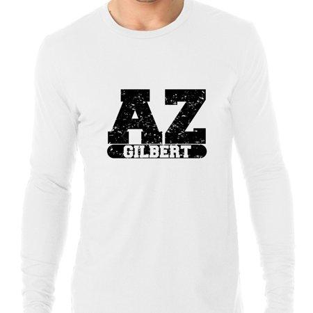 Gilbert, Arizona AZ Classic City State Sign Men's Long Sleeve T-Shirt](Party City Gilbert Az)