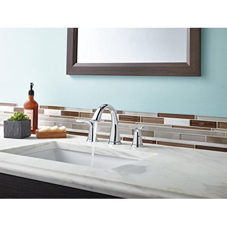 Delta Faucet 3538-MPU-DST Lahara Two Handle Widespread Lavatory ...