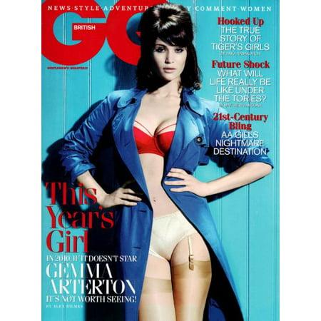 Gemma Arterton 11inx17in Mini Poster Gq Magazine Cover in Mail/storage/gift tube (Benelli Magazine Tube)