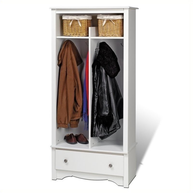 Bowery Hill Entryway Organizer in White