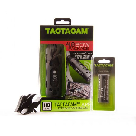 Tactacam 4.0 Bow Hunting Camera with FREE Stabilizer mount + Battery + Gun Mount