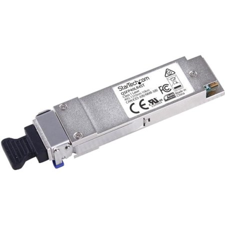 Startech MSA Compliant 40GBase-LR4 QSFP+ - 40G QSFP+ Fiber Transceiver Module - SM LC - 10 km (6.2 mi) - 1270nm-1330nm - For Optical Network, Data Networking 1 LC Female (See Optical Store)