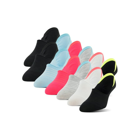 PEDS Women's Mid Sport Cut Liners with Y-heel, 12 Pairs Mid Cut Trainer