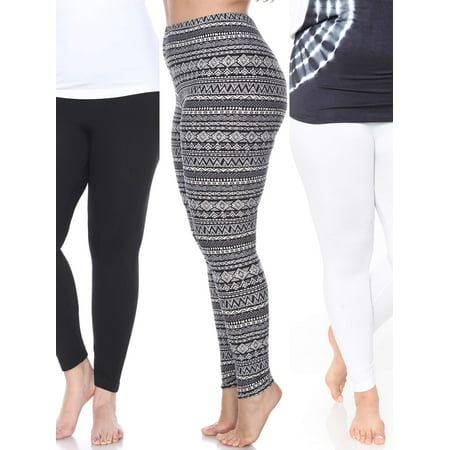 Women's Pack of 3 Plus Size Leggings](Skeleton Leggings Plus Size)