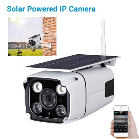 Wireless Security Camera Outdoor Solar Battery Powered,1080P Wireless IP Home...