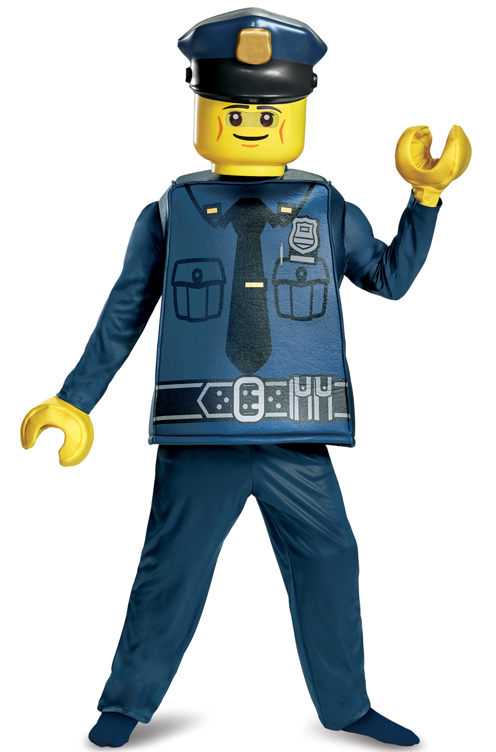 Police Officer Deluxe Child Costume by Disguise