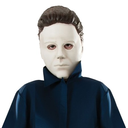 Michael Myers Mask Child Costume Accessory (Scary Halloween Games Michael Myers)