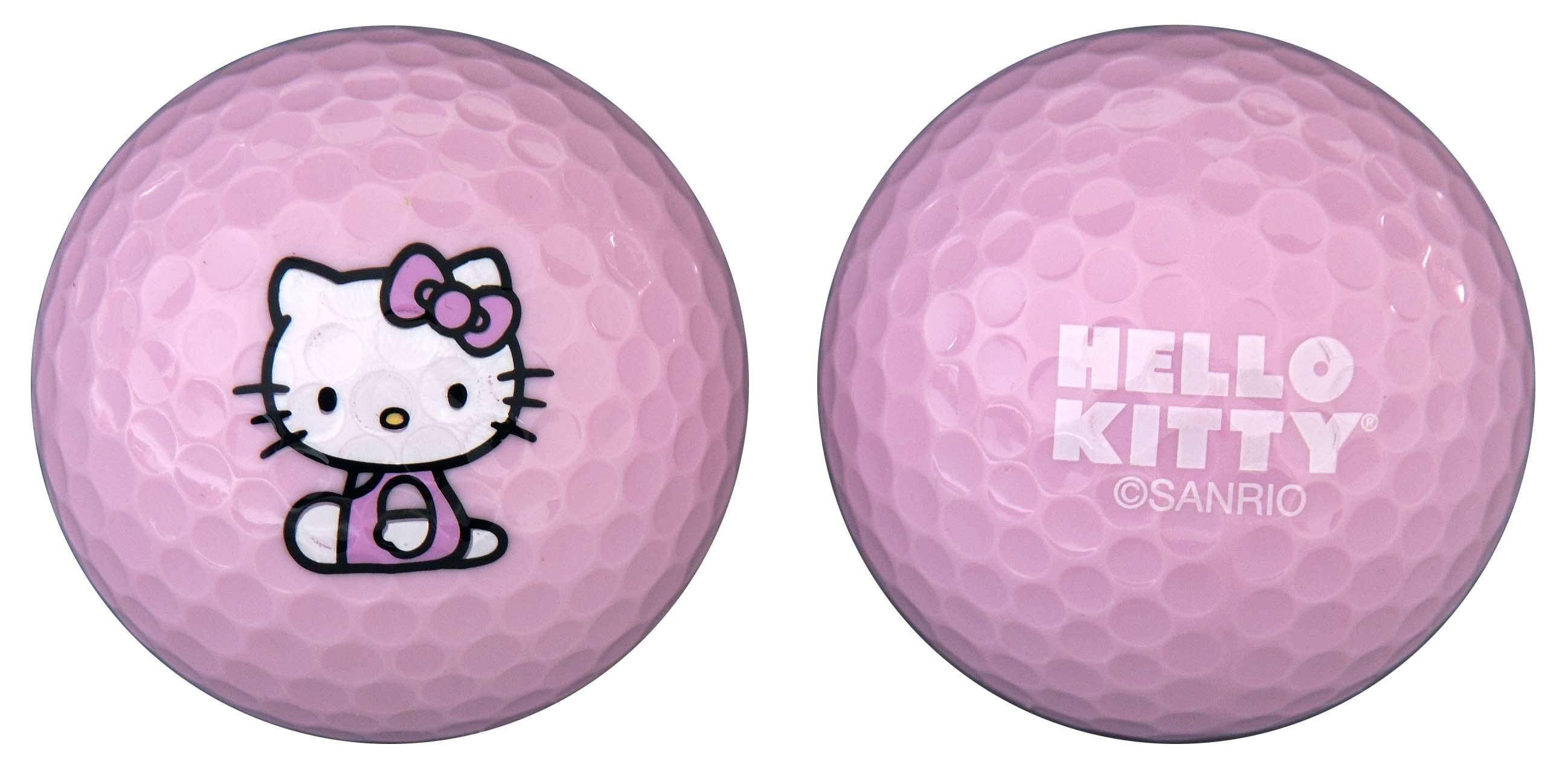 Hello Kitty Golf Ball-Number of Balls:6 Balls by Hello Kitty