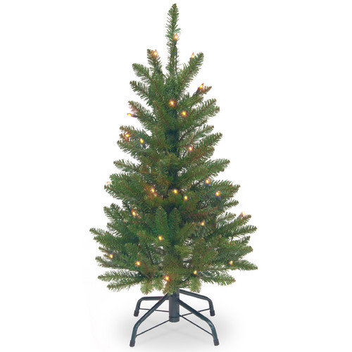 National Tree Co Kingswood 3 Green Fir Artificial
