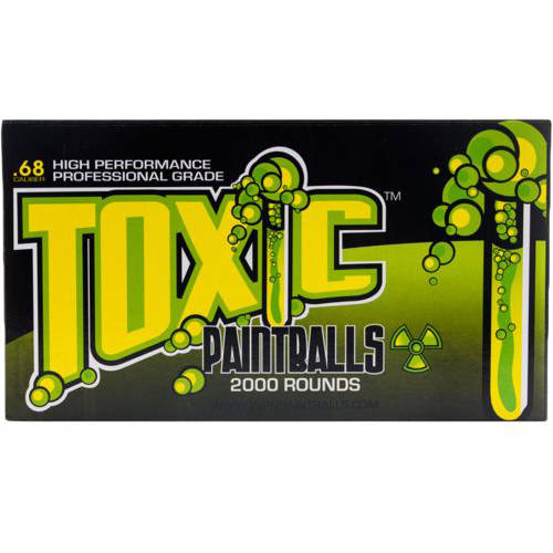 WPN Toxic Professional Grade .68 Caliber Paintballs 2000 Count