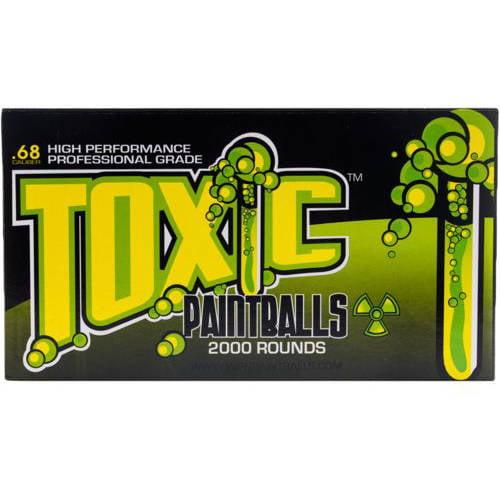 WPN Toxic Professional Grade .68 Caliber Paintballs 2000 Count