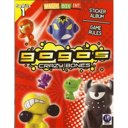 Crazy Bones Gogo's Series 1 Sticker Album - Crazy Action Contraptions