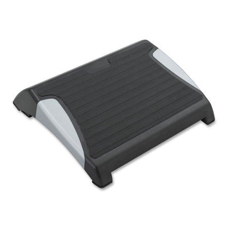 Safco, SAF2120BL, RestEase Adjustable Footrest, 1 / Each, Black,Silver