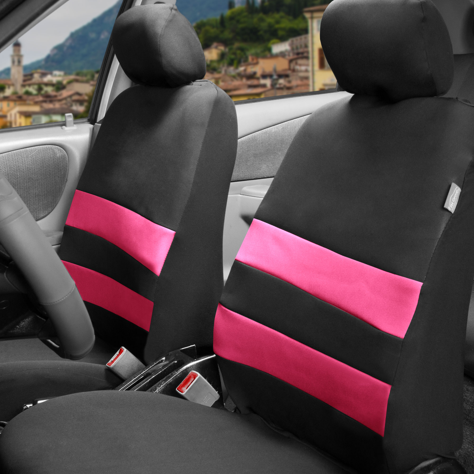 FH Group Premium Neoprene Seat covers, Airbag Compatible, Front Bucket Covers, 9 Colors